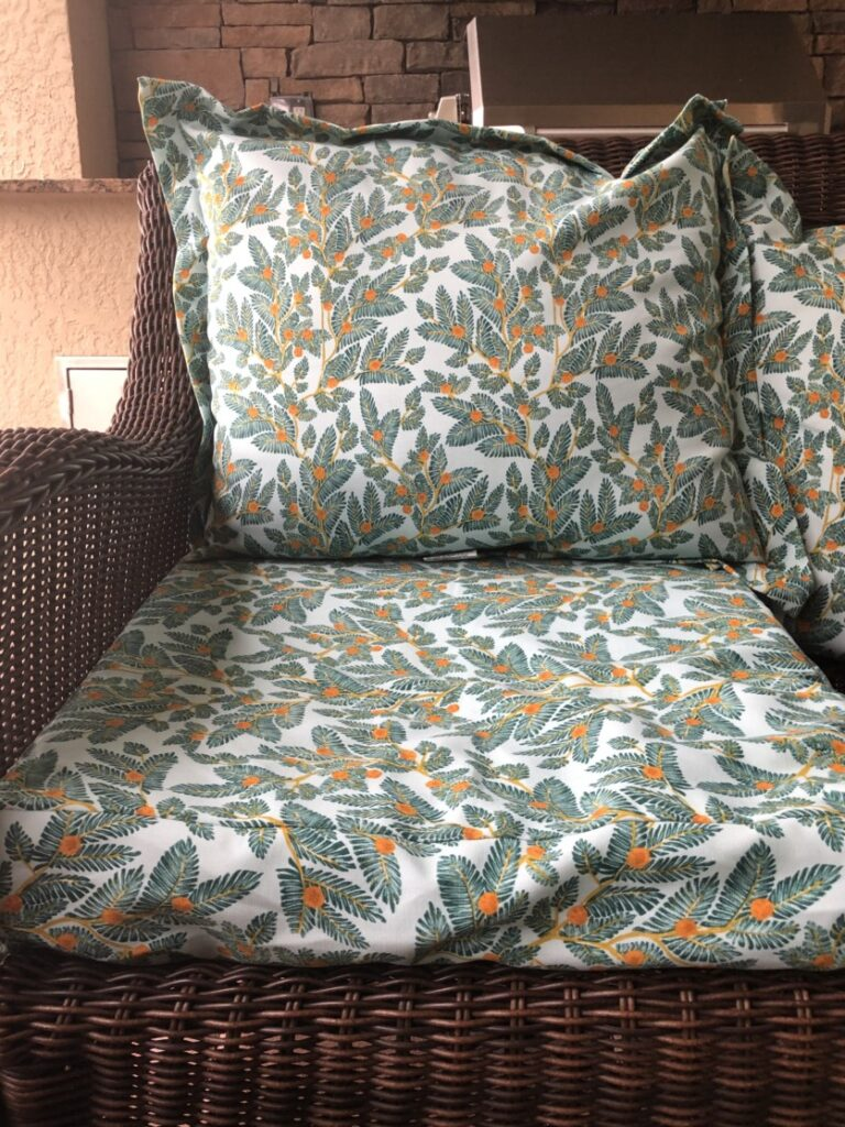 Picture of: Outdoor Chair Cushions Replacing The Insert Not The Whole Cushion